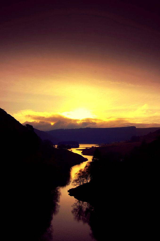 ~~A COLORFUL END | The river Wye at sunset snaking its way down the Elan valley, Wales, UK | by paul meldrew~~