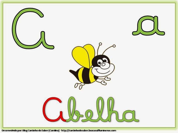 Alfabeto Colorido e Ilustrado Para Colar na Sala de Aula - Desenhos Para Colorir