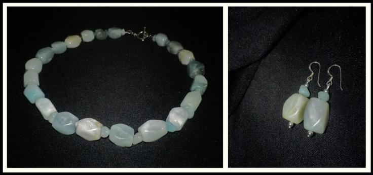 Aquamarine Gemstone Set:  http://www.facebook.com/ZadiaDesigns