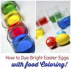 The 25 best food coloring easter eggs recipe ideas on pinterest how to dye bright easter eggs with food coloring forumfinder Gallery