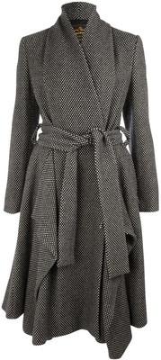 Drape Dot Belted Coat, Vivienne Westwood