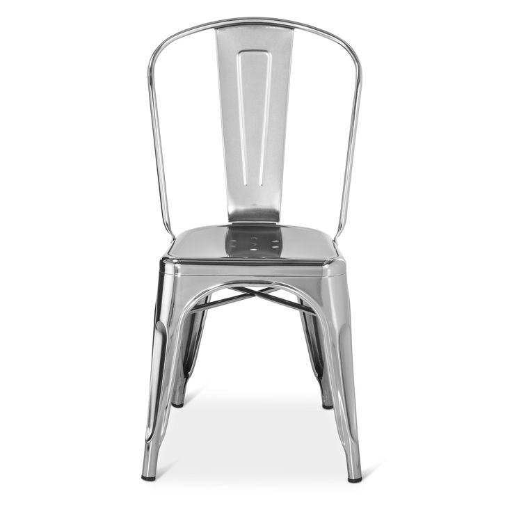 Best 25 Metal Dining Chairs Ideas On Pinterest White