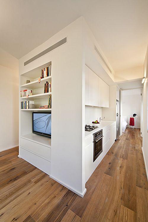 Reforma de un Apartamento de 40 m2 por SFARO arquitectos