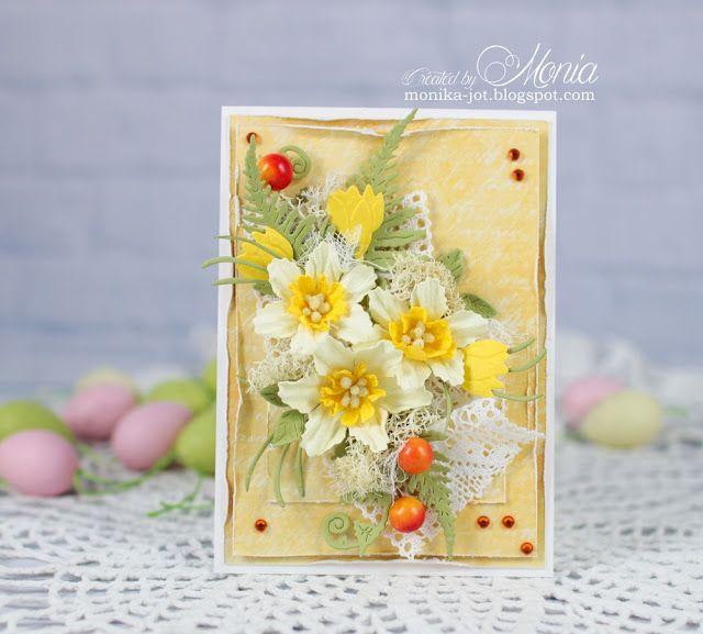 #polandhandmade #handmadeflowers #cardmaking #easter