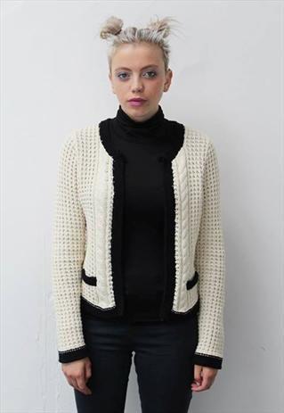 Chanel style cardigan for sale by prettydisturbia on asosmarketplace! #asosmarketplace