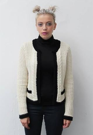 Chanel style cardigan for sale by prettydisturbia on asosmarketplace! #asosmarketplace