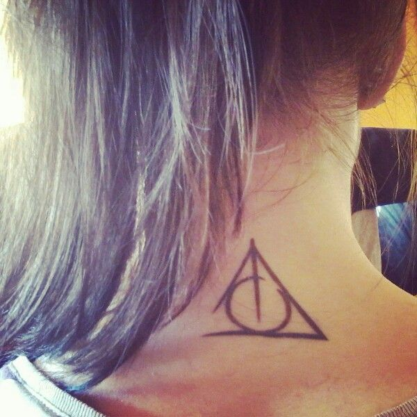 My Harry Potter Deathly Hallows Tattoo