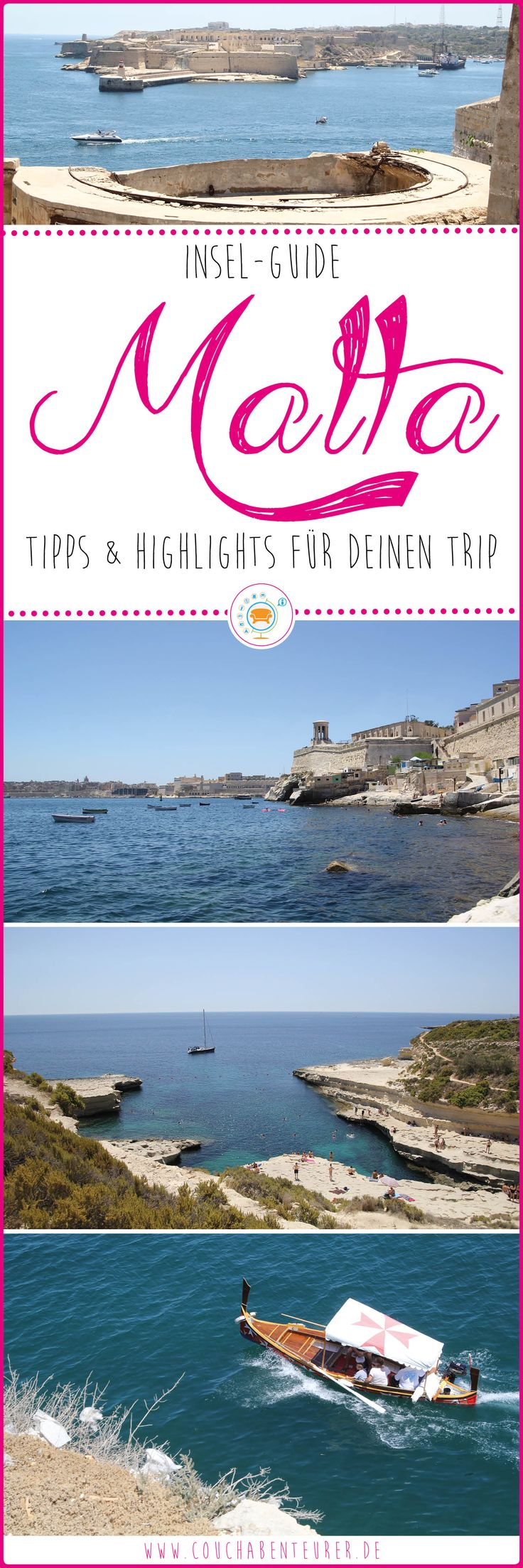Dein ultimativer Guide die schönsten Ecken Maltas zu entdecken. Ich zeige dir was sich lohnt und was du in keinem Fall verpassen solltest!