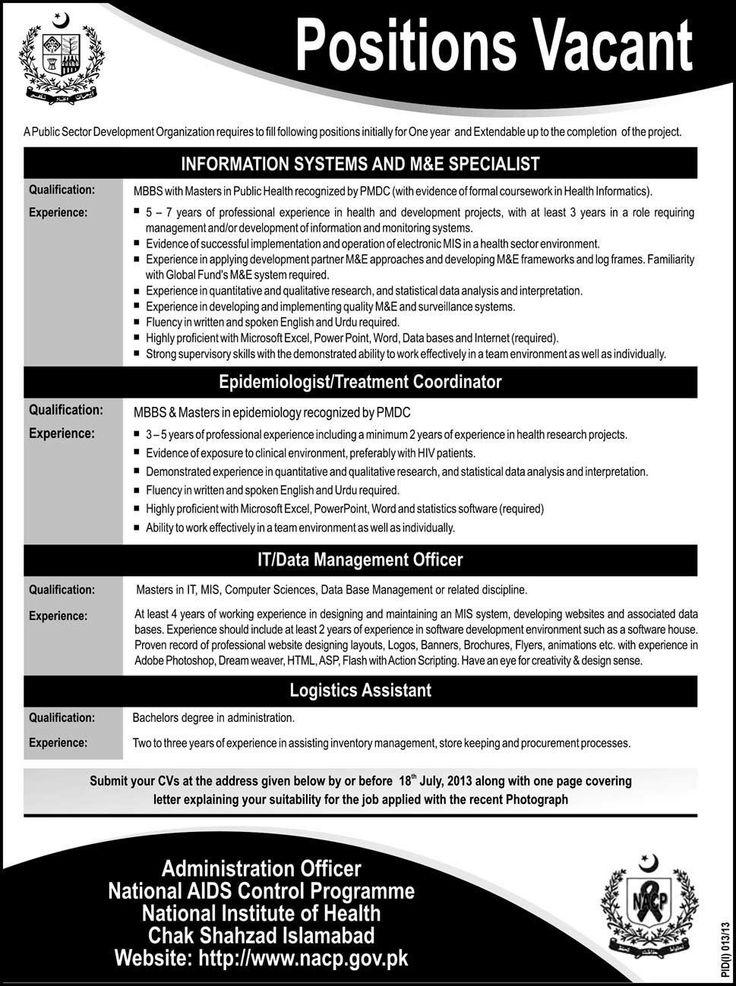 پبلک سیکٹر آرگنائزیشن میں نوکریوں کا اعلان Latest News Updates - logistics officer job description