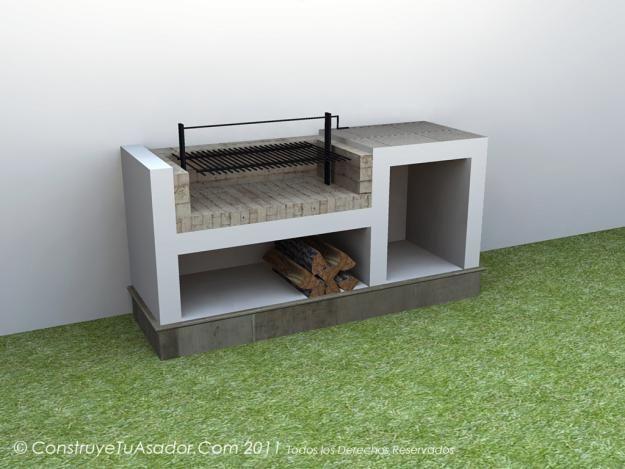 M s de 25 ideas incre bles sobre asadores para jardin en for Asador para jardin