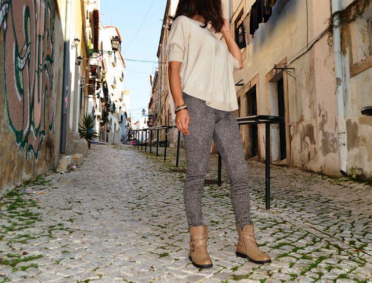 Conjunto camisola, calça e botas by CHG