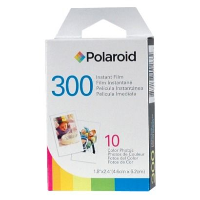 Polaroid 300 Film 10 Pack (PIF-300) I would be happy with 1 pack, but 10 doesn't seem like a lot