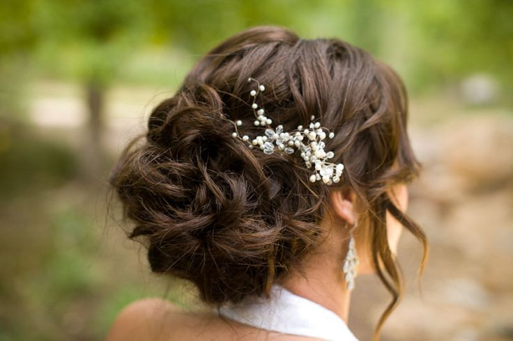Best 25 Winter Wedding Hairstyles Ideas On Pinterest: 25+ Best Ideas About Wedding Hair Brunette On Pinterest