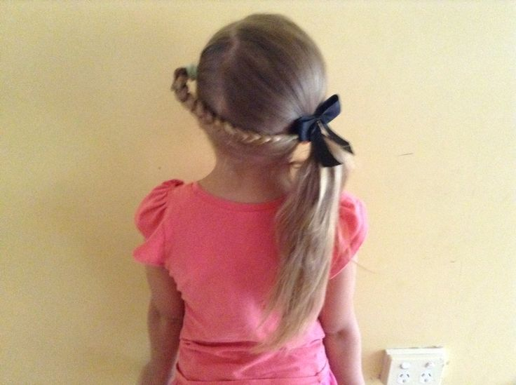 Hair style on one of my sisters