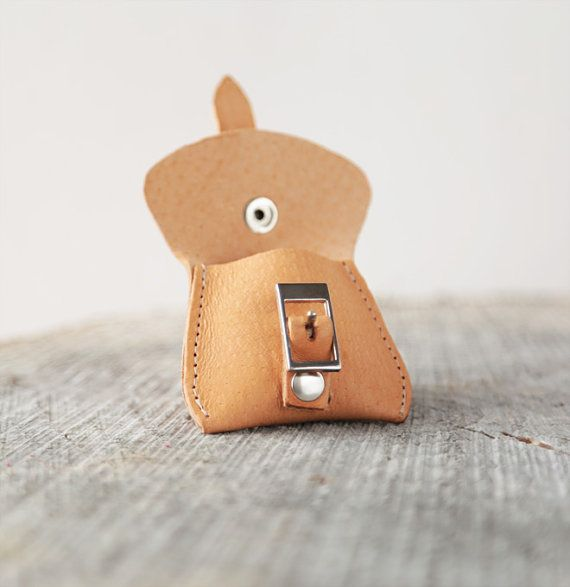 Keychain leather keychain key  chain leather by secondstudio