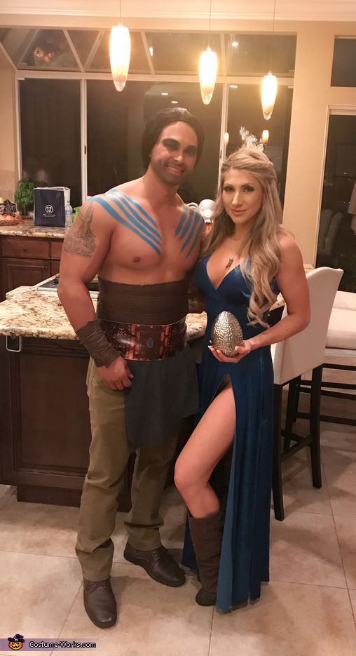 Khaleesi and Khal Drogo - 2017 Halloween Costume Contest