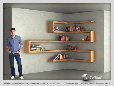 15 coolest bookshelves - Bookcase Design Ideas