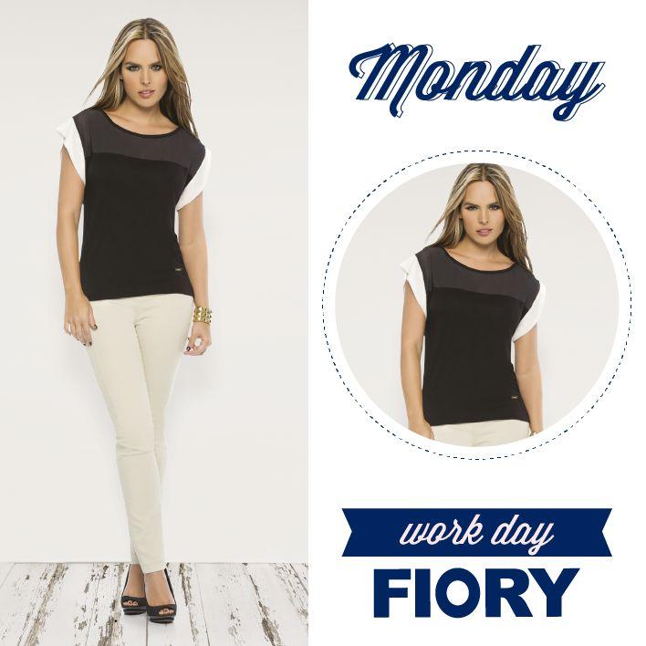 Monday...workday FIORY!! Feliz comienzo de semana, que tengas un día muy FIORY!!