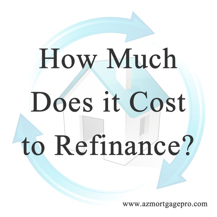 The costs involved in refinancing a home mortgage.