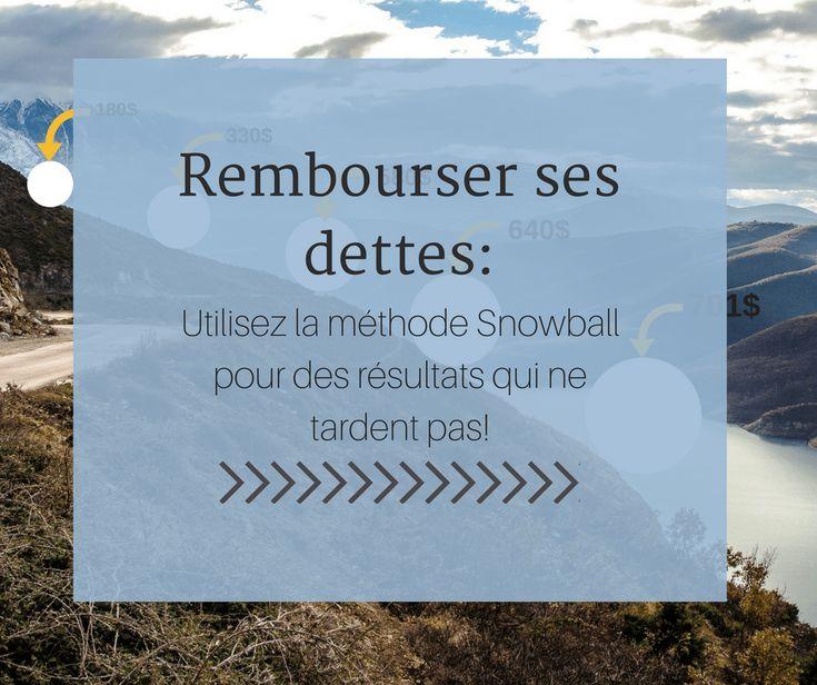 Rembourser ses dettes- Utilisez la méthode Snowball