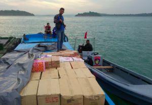 Halo Dunia Update : Satpolairud Polresta Barelang Amankan Kapal Tanpa Nama di Perairan Pulau Raja