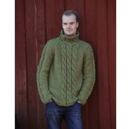 Mönster till tröja i ekologisk ull