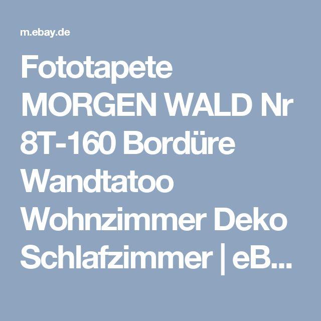 Fototapete MORGEN WALD Nr 8T-160 Bordüre Wandtatoo Wohnzimmer Deko
