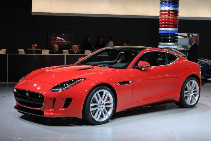 2015 Jaguar F-Type Coupe Preview And Live Photos: 2013 L.A. Auto Show