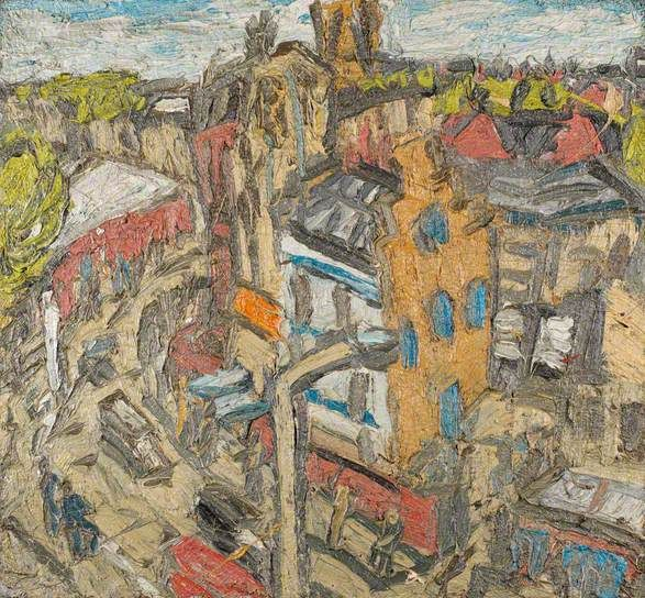 Dalston Lane, Summer Day (No.1). Leon Kossoff
