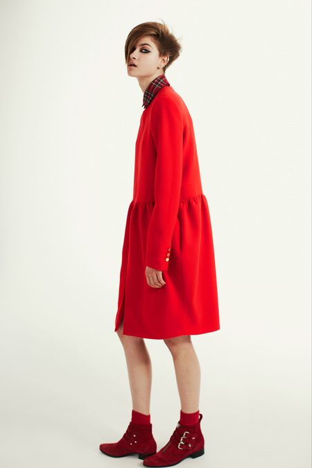 Look 4 Preen Pre-Fall 2013 #coat dress