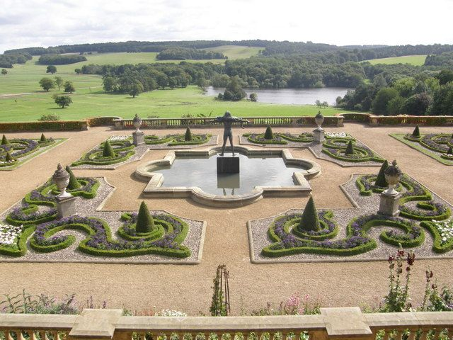 harewood house terrace gardens designed by sir charles