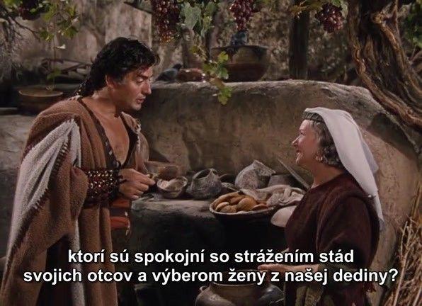 Samson s Dalila film s sk titulkami