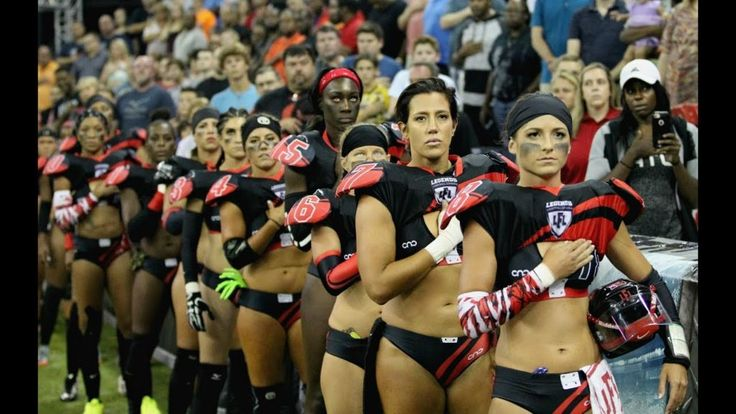 Watch: All-Women Lingerie Football League's RESPONSE to NFL on National Anthem Protests