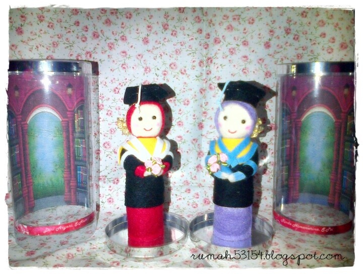 Another graduate handmade doll, now with hijab. As a gift and souvenir.