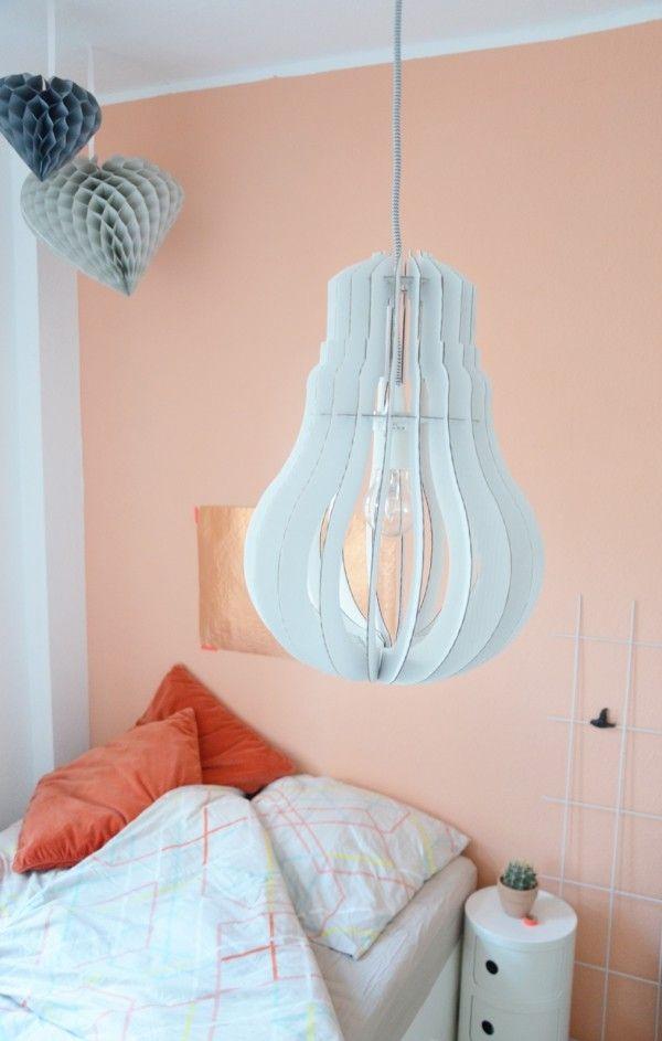 Wandfarbe Apricot Der Frische Trend Bei Der Wandgestaltung In 40 Beispielen Wandfarbe Kinderzimmer Wandfarbe Farben