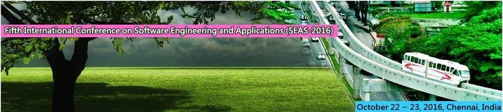 Fifth International Conference on Software Engineering and Applications (SEAS-2016)    October 22~23, 2016, Chennai, India    http://necom2016.org/seas/index.html    Scope & Topics      Fifth International Conference on Software Engineering and Applications (SEAS-2016) will provide an excellent international forum for sharing knowledge and results in theory, methodology and applications of Software Engineering and Applications. The goal of this Conference is to bring together researchers and…