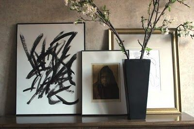 Bromeliad: My DIY: Dollar Store Abstract Expressionism – Fashion and home decor DIY and inspiration