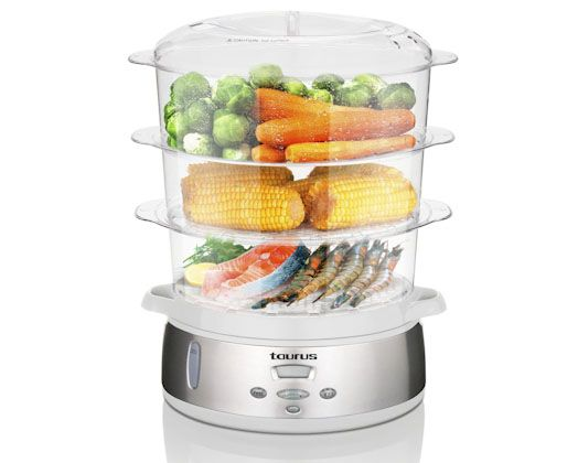 9L Digital Food Steamer 3 Tier #MyDreamKitchen #CreativeHousewares