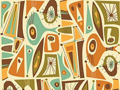 Best MidCentury Design  Color Images On Pinterest Mid - Midcentury modern colors