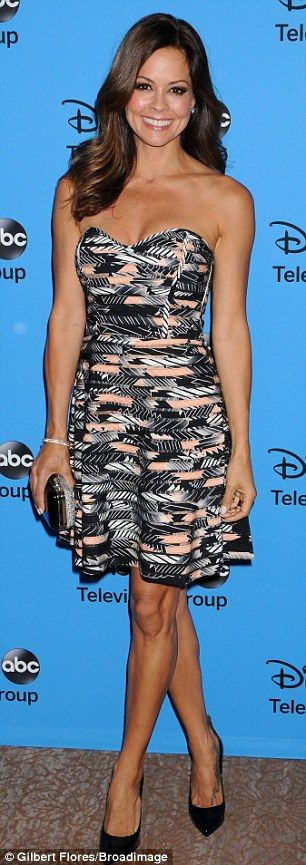 Brooke Burke @ the Disney ABC TCA Summer Press Tour