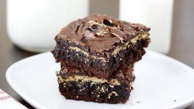 Spooky Boo Brownies recipe from Betty Crocker