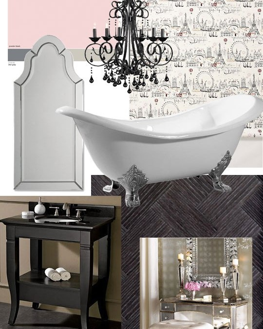 Bathroom Chandeliers Black 137 best country chic bathrooms images on pinterest | home, room