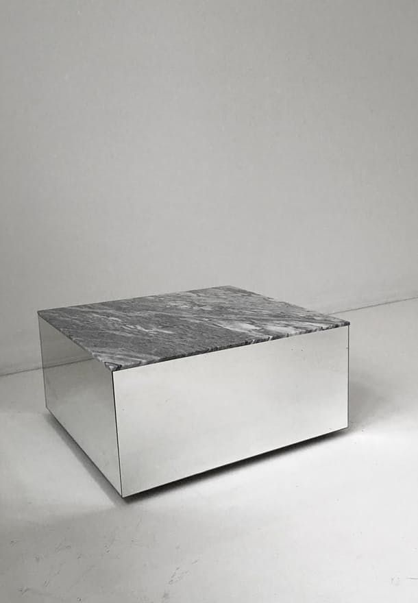 Atypical mirror - The Mirror Table from Kristina Dam is equally function and aesthetics, and is perfect as a coffee table or just as art in your home.