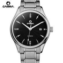 CASIMA brand Luxury automatic mechanical watches men business dress wrist watch stainless steel waterproof noctilucent  #6905(China (Mainland))