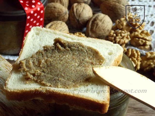 Gotowanie jest łatwe: Masło orzechowe z orzechów włoskich