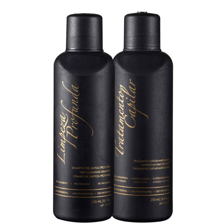 thumb G.Hair Tratamento Capilar Marroquino Hair Kits Escova Marroquina (2 Produtos)