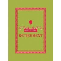 On Your Retirement Gift Book