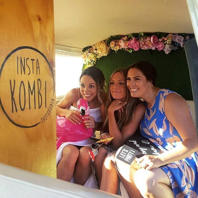 The perfect way to make fun, lasting memories with your guests!!  Insta Kombi Photo Booth www.instakombi.com