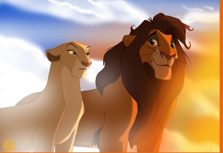 66 Best Kiara And Kovu Images On Pinterest Lion The