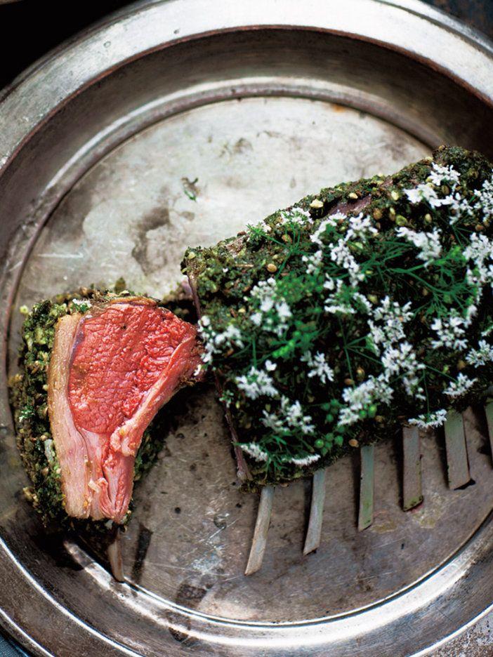 【ELLE a table】ラムのロースト パクチーとスパイスのペーストレシピ|エル・オンライン